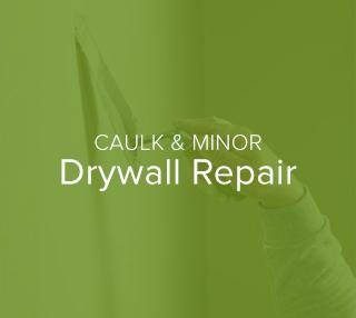 Caulk and Minor Drywall Repair - A New Look
