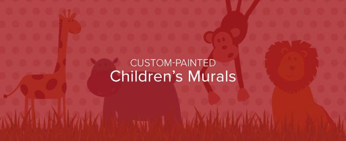 Custom Painted Children's Murals - A New Look
