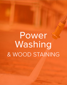 Power Washing and Wood Staining- A New Look